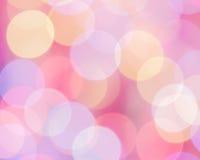 Rosa bakgrund: Foto för materiel för suddighet för moderdag Fotografering för Bildbyråer