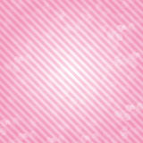 Rosa bakgrund i dendag bröstcancern Arkivbilder