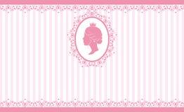 Rosa bakgrundsdesign för tappning Royaltyfria Bilder