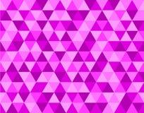 Rosa bakgrundsmodell för triangel royaltyfri illustrationer