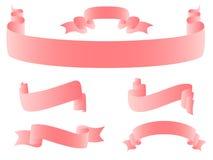 rosa band Vektor Illustrationer