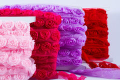 Rosa band Royaltyfri Bild