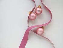 rosa band för prydnadar Fotografering för Bildbyråer