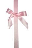 rosa bandvertical för bow Royaltyfria Bilder