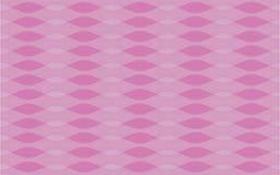 Rosa bewegt geometrische nahtlose sich wiederholende Vektormusterbeschaffenheit wellenartig lizenzfreie abbildung