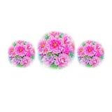 Rosa Blume des Aquarells, die ursprüngliches realistisches buntes von Paeonia malt lizenzfreies stockbild