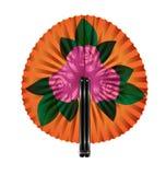 Rosa Blumen des Fans Lizenzfreie Stockfotografie