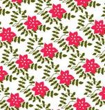 Rosa Blumen und Blumenblätter Lizenzfreies Stockfoto