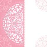 Rosa Blumenblatmuster mit Raum für Text Stockfotos