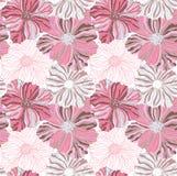 Rosa Blumenmuster Lizenzfreie Stockbilder