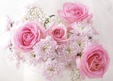 Rosa Blumenstrauß Lizenzfreie Stockfotografie