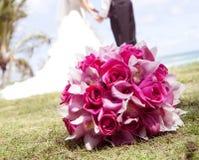 Rosa Blumenstrauß Lizenzfreies Stockbild