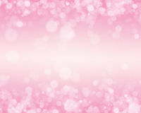 Rosa Bokeh bakgrund Arkivbild
