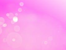 Rosa bokeh Zusammenfassungshintergrund und -beschaffenheit Lizenzfreies Stockfoto