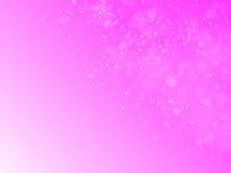Rosa bokeh Zusammenfassungshintergrund und -beschaffenheit Stockbild