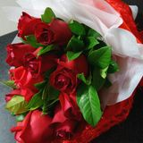 rosa bukettrosor Royaltyfri Foto