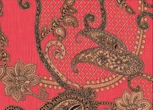 Rosa Cachmere-Baumwollegarnment Lizenzfreies Stockbild