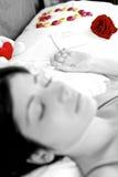 Rosa chokladhjärta för förälskelse för den San valentin Royaltyfria Foton