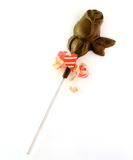 Rosa in cioccolato Fotografia Stock