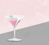 Rosa Cocktail Lizenzfreie Stockfotos