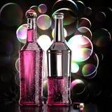 Rosa da bebida Imagem de Stock Royalty Free