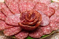 Rosa de salsichas do verão Foto de Stock