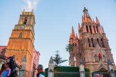 Rosa de San Miguel Allende fotografía de archivo libre de regalías
