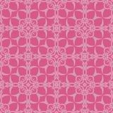 Rosa dekorativ sömlös linje modell Arkivfoton
