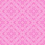 Rosa dekorativ sömlös linje modell Royaltyfri Bild