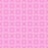 Rosa dekorative nahtlose Linie Muster Stockbilder