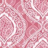 Rosa dekorativer Blumenhintergrund Lizenzfreie Stockfotografie
