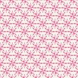 Rosa dekoratives Muster Lizenzfreie Stockbilder