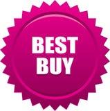Rosa del bollo della guarnizione di Best Buy Immagine Stock Libera da Diritti