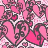 Rosa del corazón Imagen de archivo libre de regalías