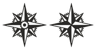 Rosa dell'immagine di vettore dei venti Fotografia Stock