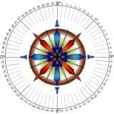Rosa di bussola dei navigatori illustrazione vettoriale