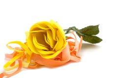 Rosa di giallo Fotografia Stock Libera da Diritti