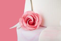 Rosa di rosa dello zucchero Immagine Stock Libera da Diritti