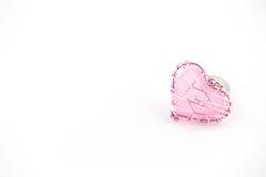 Rosa do fio do coração bonito Imagem de Stock