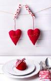 Rosa do vermelho do dia de Valentim Fotografia de Stock Royalty Free