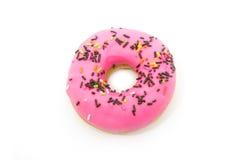 Rosa Donut Lizenzfreies Stockbild
