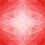 Rosa 05 dos triângulos de Seample Ilustração Stock
