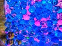Rosa e bolhas azuis fotos de stock royalty free