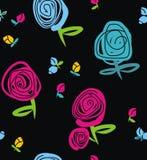 Rosa e botões Imagens de Stock Royalty Free