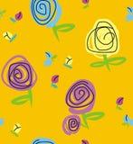 Rosa e botões Imagem de Stock