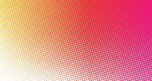 Rosa e fundo de intervalo mínimo pontilhado laranja Imagem de Stock Royalty Free