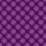 rosa e ilustração floral roxa do teste padrão Imagens de Stock Royalty Free