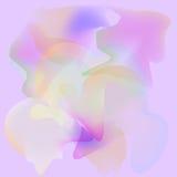Rosa e luz artísticos abstratos do fundo Imagens de Stock