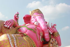 Rosa Elefant Gott Stockfoto