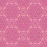 Rosa ethnisches Muster Stockfotografie